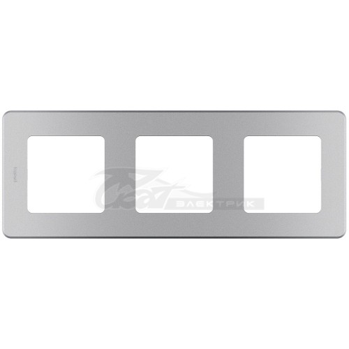 Рамка 3м алюминий Legrand INSPIRIA