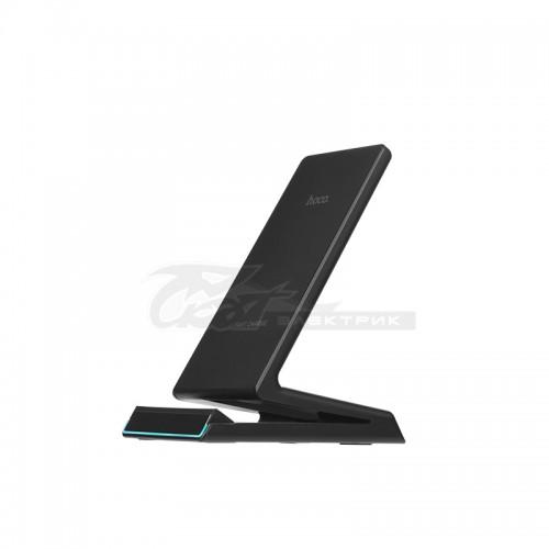 Беспроводное зарядное устройство-подставка Hoco CW1B, цвет черный***