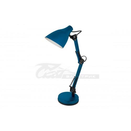 Светильник настольный KD-331 230v 40w E27 синий C06 Camelion