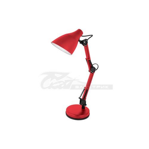 Светильник настольный KD-331 230v 40w E27 красный C04 Camelion