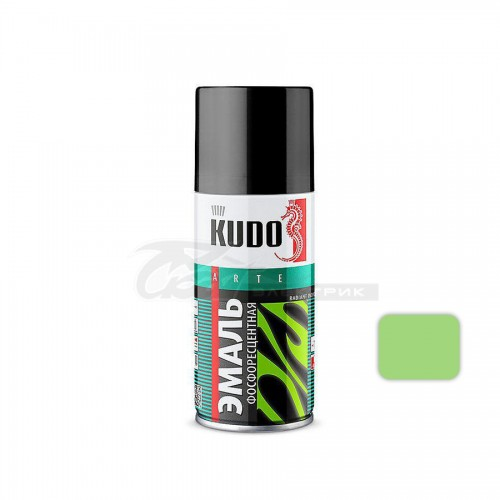 Эмаль KU-1250.1 фосфоресцентная зелено-желтое свечение 210мл