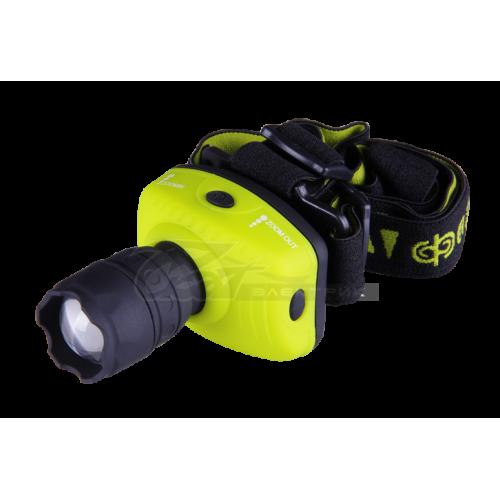 Фонарь ФАZA H2-L1WZ-3AAA-gn zoom LED1W зеленый