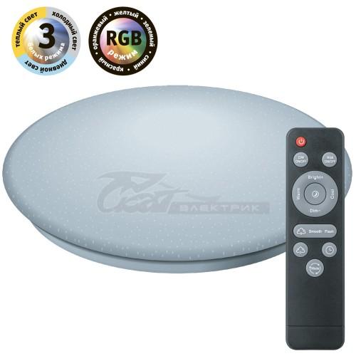 Светильник настенно-потолочный NLF-C-001-03 48W RGBWw DIM + ПДУ, Wi-Fi, IP20 Tuya SmartHome Navigator