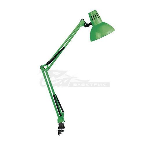 Светильник настольный KD-312 230v 60w зелёный