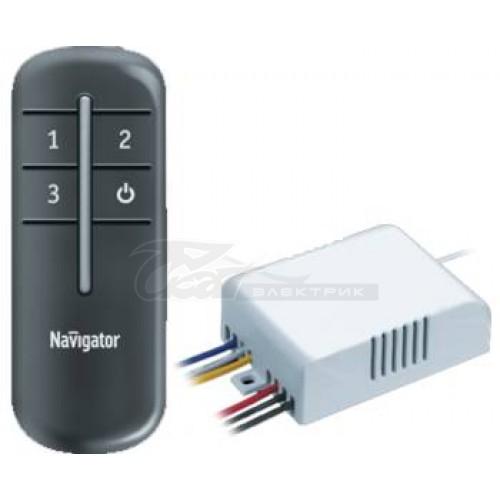 Выключатель ДУ с пультом 3*1000w NRC-SW Navigator