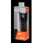 Фонарь аккумуляторный Jazzway Alum1-L5W (5Вт, ZOOM, 3*AAA, 305Лм) черный металлический