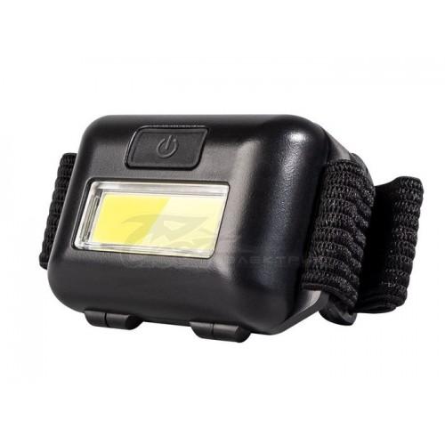 Фонарь налобный ФAZA(CP) H01-01 3*ААА LED 1W COB черный