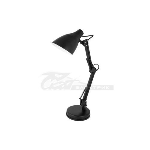 Светильник настольный KD-331 230v 40w E27 черный C02 Camelion