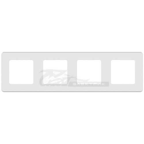 Рамка 4м белый Legrand INSPIRIA